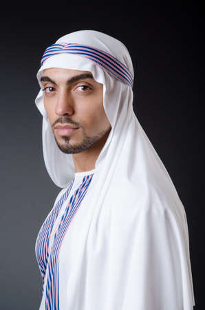 Arab businessman isolated on the white Stock Photo - 19005652