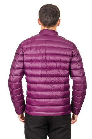Male coat isolated on the white Stock Photo - 19012951