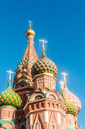Famous st Vasily Blessed cathedral in Moscow Stock Photo - 19013224