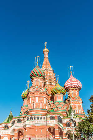 Famous st Vasily Blessed cathedral in Moscow Stock Photo - 19013154