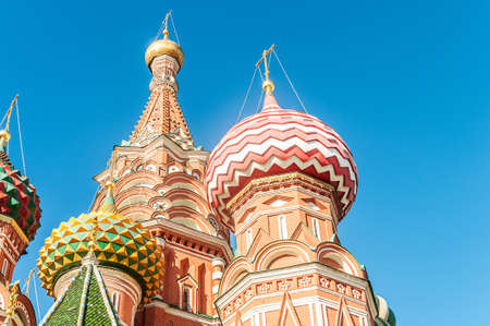 Famous st Vasily Blessed cathedral in Moscow Stock Photo - 19013270