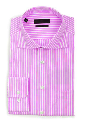 Nice male shirt isolated on the white Stock Photo - 19013349
