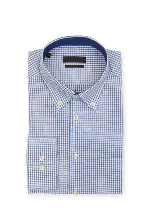 Nice male shirt isolated on the white Stock Photo - 19013120