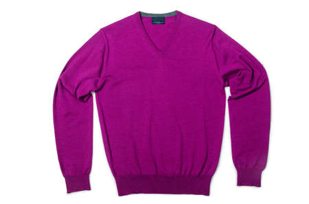 Male sweater isolated on the white Stock Photo - 19013158