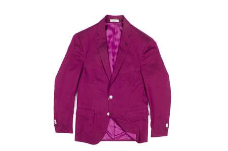 Jacket isolated on the white background Stock Photo - 19038818