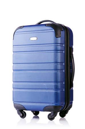 Travel suitcase isolated on white Stock Photo - 19039761