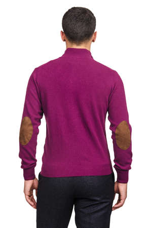 Male sweater isolated on the white Stock Photo - 19039583