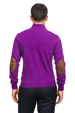 Male sweater isolated on the white Stock Photo - 19039593
