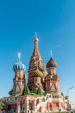 Famous st Vasily Blessed cathedral in Moscow Stock Photo - 19039757