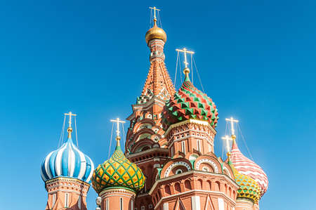 Famous st Vasily Blessed cathedral in Moscow Stock Photo - 19039766