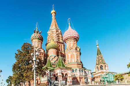 Famous st Vasily Blessed cathedral in Moscow Stock Photo - 19039846