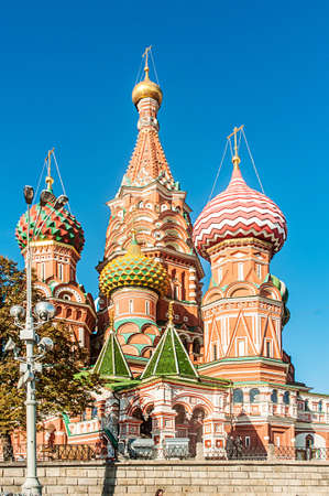 Famous st Vasily Blessed cathedral in Moscow Stock Photo - 19039829