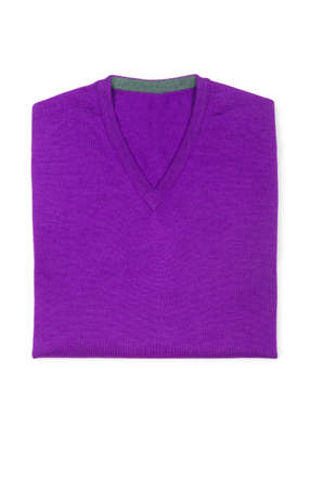Male sweater isolated on the white Stock Photo - 19064651