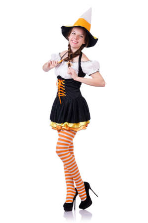 Young woman in traditional german costume Stock Photo - 19131264
