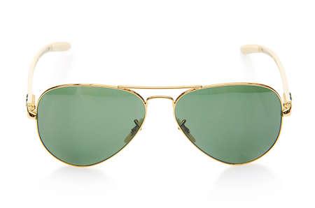 Elegant sunglasses isolated on the white Stock Photo - 19069228