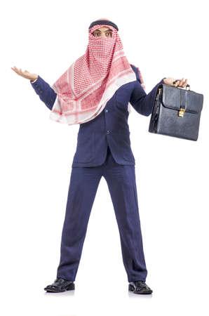 Arab businessman isolated on white Stock Photo - 19142717