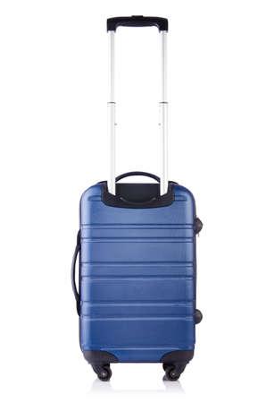 Travel suitcase isolated on white Stock Photo - 19324755