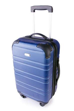 Travel suitcase isolated on white Stock Photo - 19329229