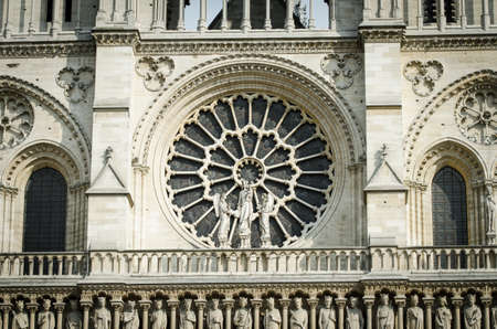 Elements of Notre dame cathedral Stock Photo - 19253841