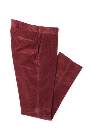 Trousers isolated on the white Stock Photo - 19329274