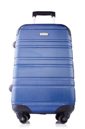 Travel suitcase isolated on white Stock Photo - 19482831