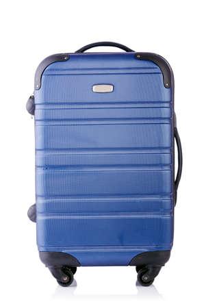 Travel suitcase isolated on white Stock Photo - 19439503