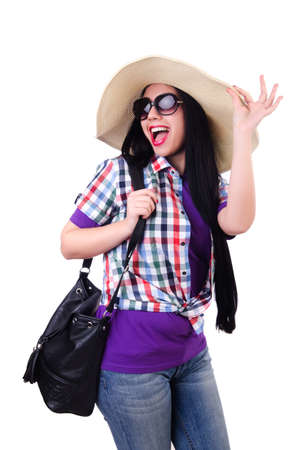 Young woman ready for summer vacation Stock Photo - 19513331