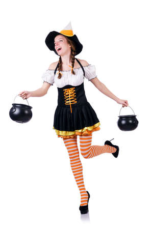 German girl in traditional festival clothing Stock Photo - 19512610