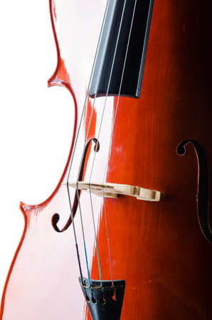 Violin isolated on the white background Stock Photo - 19526695