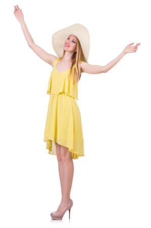 Young woman in summer clothing Stock Photo - 19869114