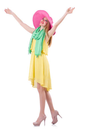 Young woman in summer clothing Stock Photo - 19673981