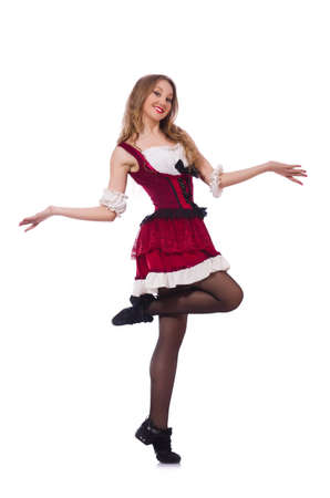German girl in traditional festival clothing Stock Photo - 20258808