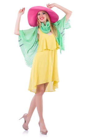 Young woman in summer clothing Stock Photo - 21058561