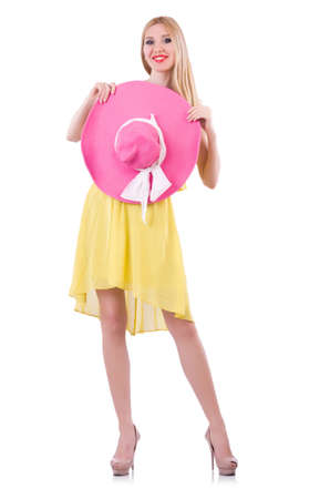Young woman in summer clothing Stock Photo - 21058563
