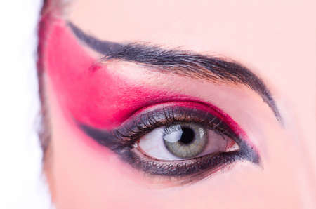 Close-up  of eye with nice make-up Stock Photo - 21110161