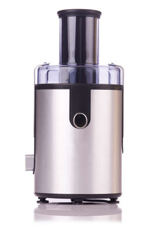 Juice extractor in kitchenware concept photo