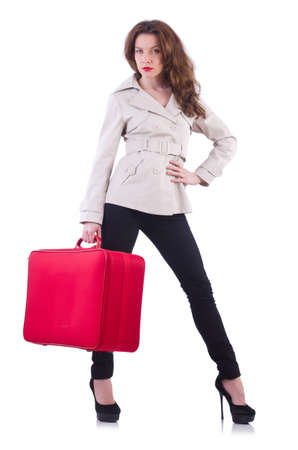 Young woman preparing for vacation Stock Photo - 20074319