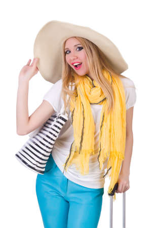 Young attractive woman ready for summer vacation Stock Photo - 20080593