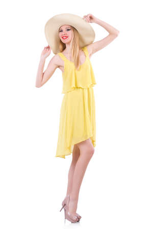 Young woman in summer clothing Stock Photo - 20080515