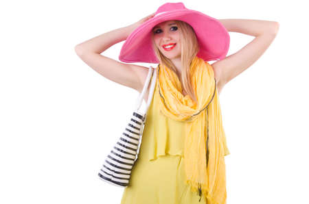 Young attractive woman ready for summer vacation Stock Photo - 20080580