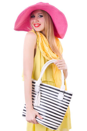 Young attractive woman ready for summer vacation Stock Photo - 20080589
