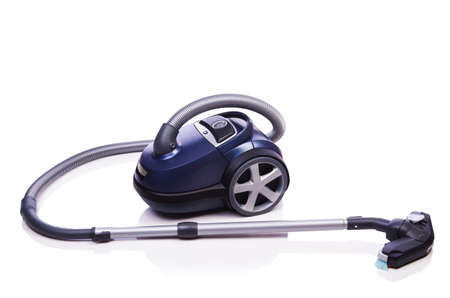 Vacuum cleaner isolated on the white Stock Photo - 20838833