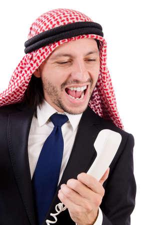 Arab man in diversity concept photo