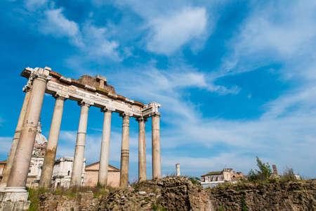 Rome Antique RUINES le jour lumineux d'été Banque d'images - 29753835