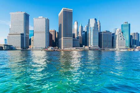 Panorama of downtown Manhattan Reklamní fotografie