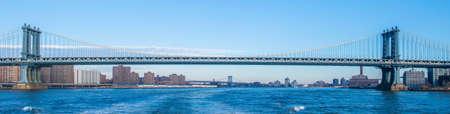 Manhattan-Brücke am Sommertag