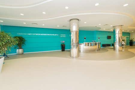 Hotel lobby with modern design 写真素材