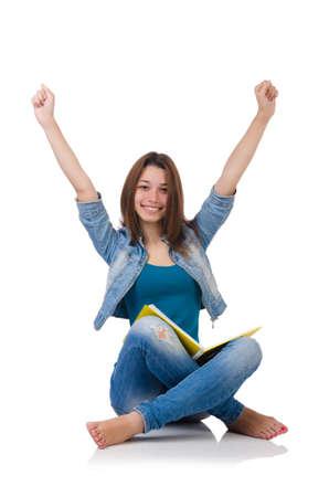 学生の女の子ホワイトに関する書籍を