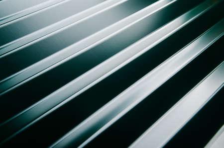 Close up von Metall-Dachziegel Standard-Bild - 45370017