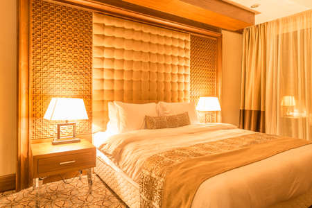 Hotel room with modern interior Stock Photo - 48034299